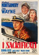 They Were Expendable - Italian Movie Poster (xs thumbnail)