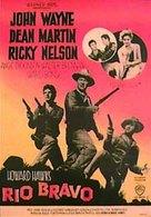 Rio Bravo - Swedish Movie Poster (xs thumbnail)