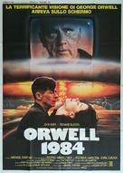 Nineteen Eighty-Four - Italian Movie Poster (xs thumbnail)