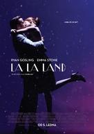 La La Land - Czech Movie Poster (xs thumbnail)