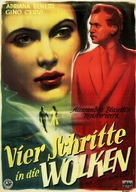 4 passi fra le nuvole - German Movie Poster (xs thumbnail)