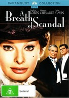 A Breath of Scandal - Australian DVD movie cover (xs thumbnail)