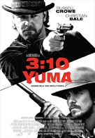 3:10 to Yuma - Turkish Movie Poster (xs thumbnail)
