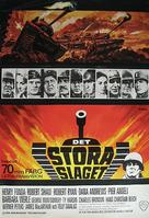 Battle of the Bulge - Swedish Movie Poster (xs thumbnail)