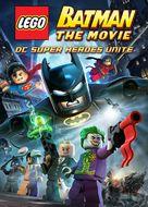 LEGO Batman: The Movie - DC Superheroes Unite - DVD movie cover (xs thumbnail)