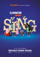 Sing - Finnish Movie Poster (xs thumbnail)