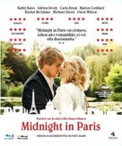 Midnight in Paris - Swedish Blu-Ray cover (xs thumbnail)