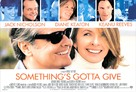 Something's Gotta Give - British Movie Poster (xs thumbnail)