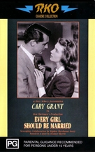 Every Girl Should Be Married - Australian VHS cover (xs thumbnail)