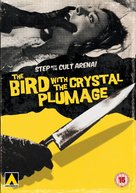 L'uccello dalle piume di cristallo - British DVD cover (xs thumbnail)