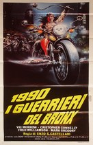 1990: I guerrieri del Bronx - Italian Movie Poster (xs thumbnail)