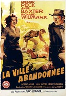 Yellow Sky - French Movie Poster (xs thumbnail)