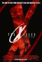 The X Files - Advance movie poster (xs thumbnail)