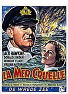 The Cruel Sea - Belgian Movie Poster (xs thumbnail)