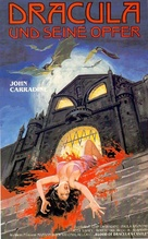 Blood of Dracula's Castle - German VHS movie cover (xs thumbnail)