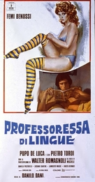 La professoressa di lingue - Italian Movie Poster (xs thumbnail)