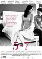5 to 7 - Movie Poster (xs thumbnail)