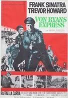 Von Ryan's Express - Swedish Movie Poster (xs thumbnail)