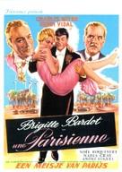 Une parisienne - Belgian Movie Poster (xs thumbnail)