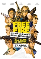 Free Fire - Dutch Movie Poster (xs thumbnail)