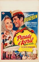 Spring Parade - Belgian Movie Poster (xs thumbnail)