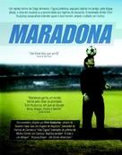 Maradona by Kusturica - Brazilian poster (xs thumbnail)