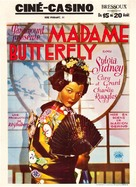 Madame Butterfly - Belgian Movie Poster (xs thumbnail)