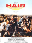 Hair - French Movie Poster (xs thumbnail)