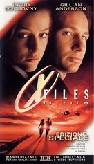 The X Files - Italian VHS movie cover (xs thumbnail)