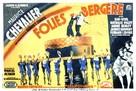 L'homme des Folies Bergère - French Movie Poster (xs thumbnail)