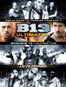 Banlieue 13 - Ultimatum - French Movie Poster (xs thumbnail)