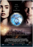 The Mortal Instruments: City of Bones - Slovak Movie Poster (xs thumbnail)