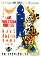 Arabian Nights - Spanish Movie Poster (xs thumbnail)