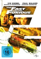 The Fast and the Furious - German Movie Cover (xs thumbnail)