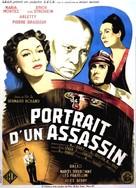 Portrait d'un assassin - French Movie Poster (xs thumbnail)