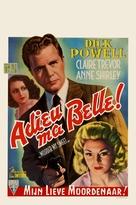 Murder, My Sweet - Belgian Movie Poster (xs thumbnail)