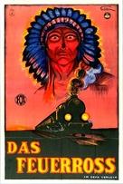 The Iron Horse - German Movie Poster (xs thumbnail)