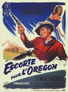 Escort West - French Movie Poster (xs thumbnail)