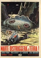 The Angry Red Planet - Italian Movie Poster (xs thumbnail)