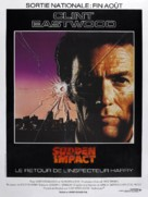 Sudden Impact - French Movie Poster (xs thumbnail)