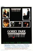 Gorky Park - Belgian Movie Poster (xs thumbnail)