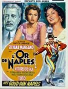 L'oro di Napoli - Belgian Movie Poster (xs thumbnail)