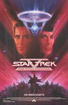 Star Trek: The Final Frontier - Video release movie poster (xs thumbnail)