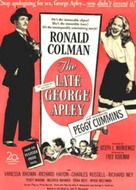The Late George Apley - Movie Poster (xs thumbnail)