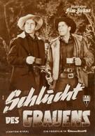 Canyon River - German poster (xs thumbnail)