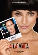 A la mala - Mexican Movie Poster (xs thumbnail)