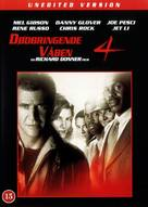 Lethal Weapon 4 - Danish DVD movie cover (xs thumbnail)
