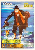 Archimède, le clochard - Italian Movie Poster (xs thumbnail)