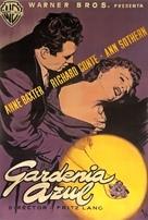 The Blue Gardenia - Spanish Movie Poster (xs thumbnail)