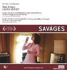 The Savages - For your consideration poster (xs thumbnail)